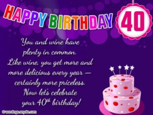 This Is A Great Birthday Card To Have On Hand Especially If You And Your Friends Are Nearing The Age Of Forty