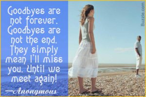 Best 75 Inspirational Goodbye Quotes Farewell My Friends