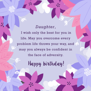 Funny Birthday Wishes For Your Daughter