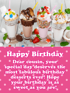 Latest 90 Happy Birthday Cousin Wishes Messages Images And Meme