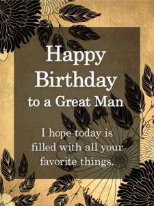 Latest 50 Way Happy Birthday Man To Wishes Messages Images ...Happy Birthday For Men Wishes