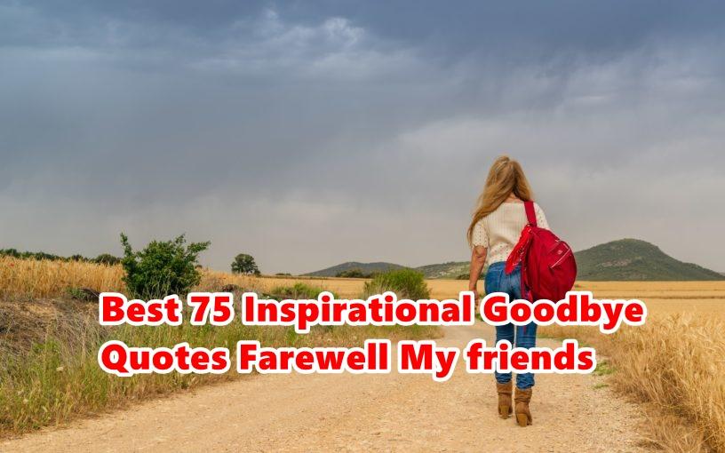 Goodbye Quotes Archives • Happy Birthday Meme : Wishes ...