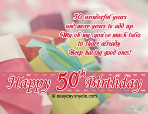 Latest 75 Happy 50th Birthday Wishes With Images And Memes