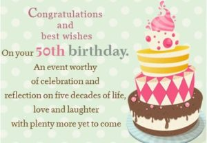 Latest 75 Happy 50th Birthday Wishes With Images And Memes ...
