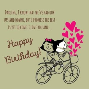 Latest 80 Ways Happy Birthday My Love To Wishes Messages Images 2018