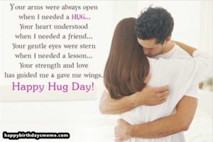 Happy Hug Day 2019 Images Quotes Best Wishes Greeting Wallpapers
