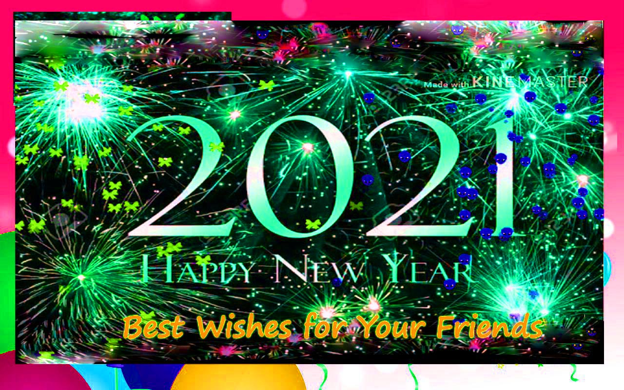Best 150 Happy New Year 2021 Messages 【SMS/Greetings/Images】