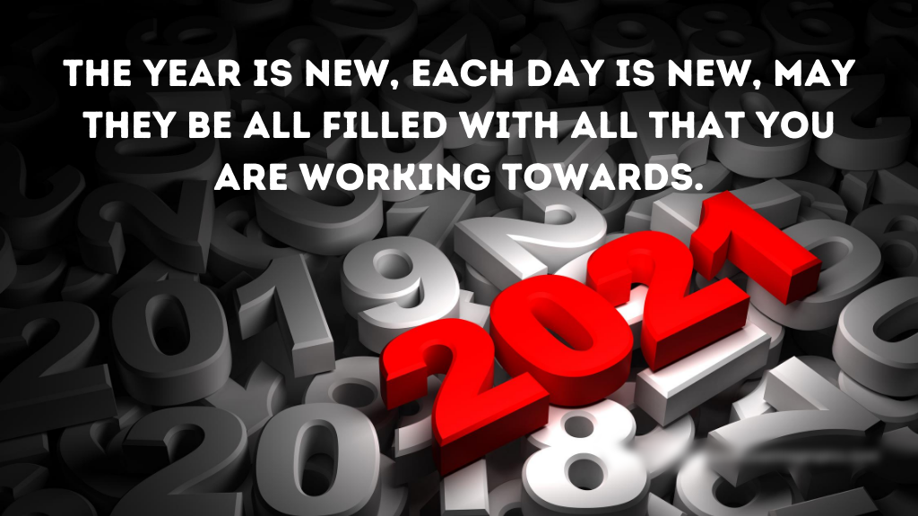 200 Happy New Year 2021 Quotes Wishes Saying With Images