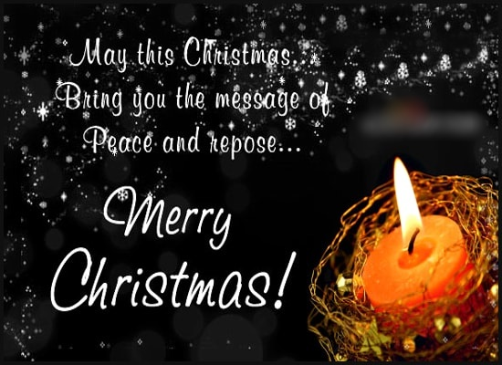 Merry Christmas 2020 Wishes, Messages, Greetings & Status