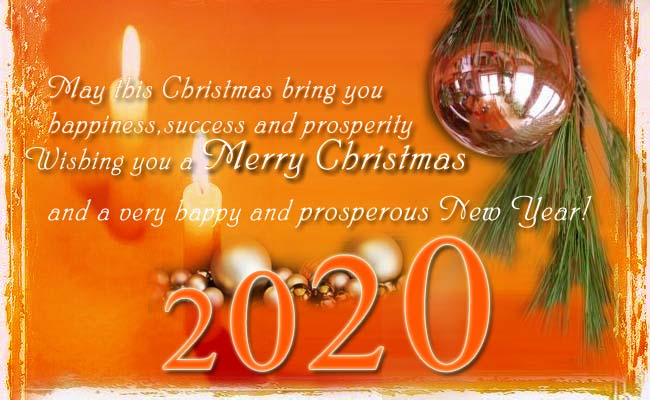 Beautiful Merry Christmas Wishes, Quotes And Messages 2020