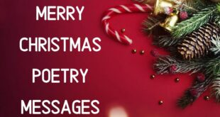 Merry Christmas Poems 2020