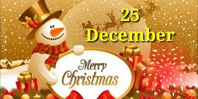 Creative*} Merry Christmas 2019 Status